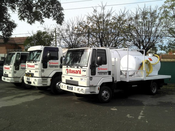 Flota Camiones Basani