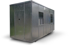 Modules and portable offices